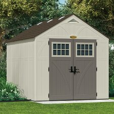 Tremont 8 Ft. W x 10 Ft. D Resin Storage Shed