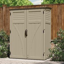 4.4 Ft. W x 2.7 Ft. D Plastic Storage Shed