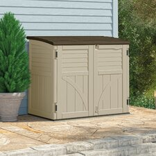 Utility 4.4 Ft. W x 2.7 Ft. D Plastic Storage Shed