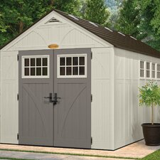 Tremont 8 Ft. W x 16 Ft. D Resin Storage Shed