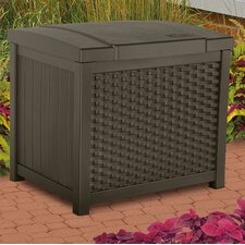 22 Gallon Wicker Deck Box