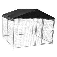 Lucky Dog™ Modular Welded Wire Yard Kennel