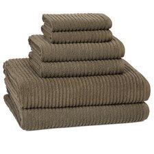 Urbane Turkish Cotton 6 Piece Towel Set