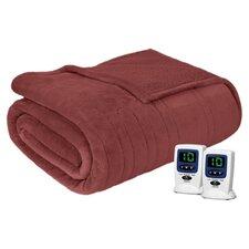 Beautyrest Solid Microlight/Berber Heated Blanket