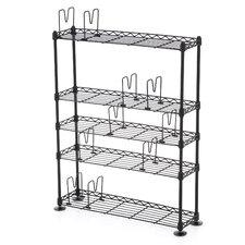 "Multimedia 31.75"" Accent Shelves Bookcase"