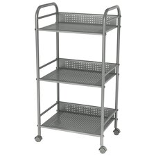 3-Tier Cart On Casters