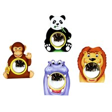 "16"" H x 14"" W Animal Friends Wall Mirrors (Set of 4)"
