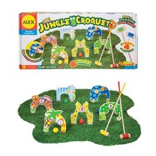 Jungle Combo Croquet Game Set