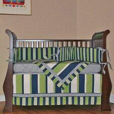 Lacrosse 4 Piece Crib Bedding Set