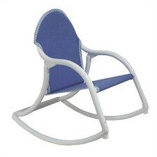 Denim Canvas Personalized Kids Rocking Chair
