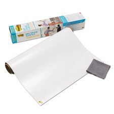 Dry Erase Surface with Adhesive Backing Wall Mounted Whiteboard