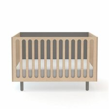Fawn Convertible Crib with Mattress