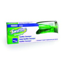 Swiffer Sweeper 10 Wide Mop, Green, 3/carton