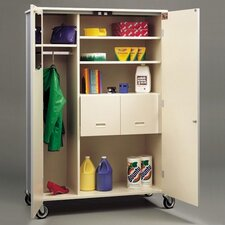 Deluxe 2 Door Classroom Cabinet