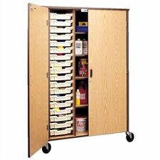 "72"" H Storage Cabinet with Shelving and Optional Trays"