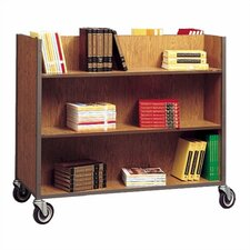 Standard Double-Sided Book Cart