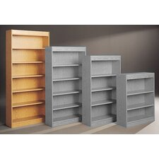 "Library Single Sided 82"" Standard Bookcase"
