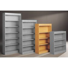 "Library Single Sided 60"" Standard Bookcase"