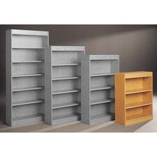 "Library Double Sided 44"" Standard Bookcase"