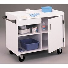 First Aid Rolling Mobile Utility Cart
