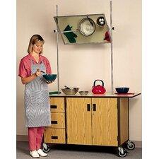 Mobile Cooking Demonstration Instructor's Desk