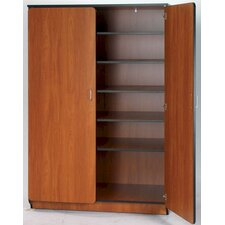"Illusions 72"" Teacher Shelf/Drawer Cabinet with Five Adjustable Shelves"