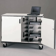 Laptop Storage and Charging Cart