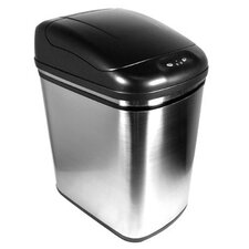 6-Gal Stainless Steel Infrared Trash Can
