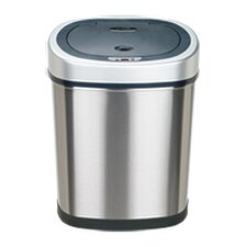 11.1-Gal Stainless Steel Motion Sensor Trash Can