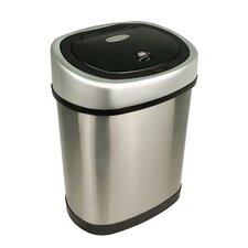3.1-Gal Stainless Steel Motion Sensor Trash Can