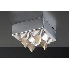Crysto 1 Light Flush Mount