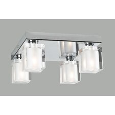 Glacier Semi Flush Mount