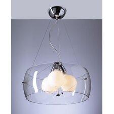 Lumisphere 3 Light Mini Drum Pendant