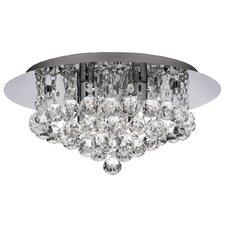 Hanna 4 Light Flush Light