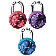 Assorted Combination Lock (Set of 3)