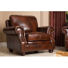 Karington Hand Rubbed Leather Armchair
