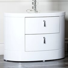 Jengo 2 Drawer Nightstand