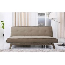 Alexandra Convertible Sleeper Sofa in Olive Green