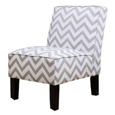 Natalia Chevron Slipper Chair