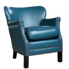 Sienna Nailhead Trim Petite Armchair