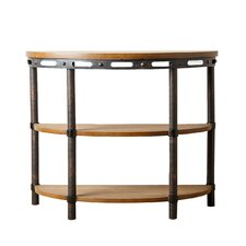 Bixel Industrial Console Table
