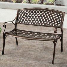 Broadview Cast Aluminum Garden Bench