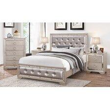 Beverly Panel 4 Piece Bedroom Set