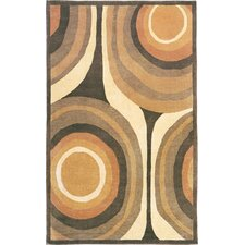 Oceans of Time Himalayan Sheep Gold Indoor/Outdoor Area Rug