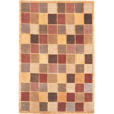 Oceans of Time Himalayan Sheep Checkered Indoor/Outdoor Area Rug