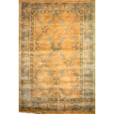 Oceans of Time Himalayan Sheep Green Indoor/Outdoor Area Rug