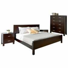 Azara Panel Customizable Bedroom Set