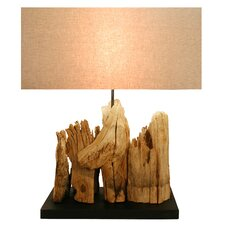 "23.62"" H Table Lamp with Rectangular Shade"