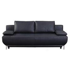 Cassino Leather Sleeper Sofa