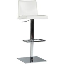 Rio Adjustable Height Swivel Bar Stool with Cushion